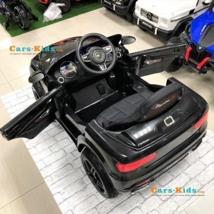 Электромобиль BMW X5 Style 12V - HL-1538 белый (колеса резина, сиденье кожа, пульт, музыка)