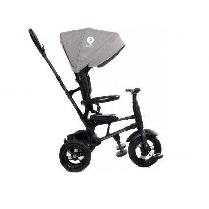 Трехколесный складной велосипед Q Play серый (трансформер)